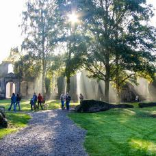 Discover the Villers Abbey, in Villers-la-ville in the Walloon Brabant region