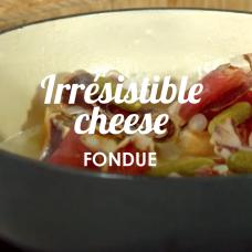 irresistible cheese fondue