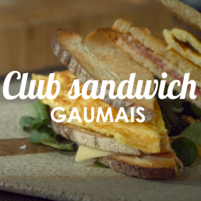 Club sandwich gaumais