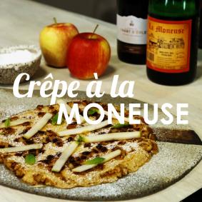 Recette de cuisine - Crêpe Moneuse