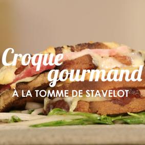 Croque gourmand à la tomme de Stavelot