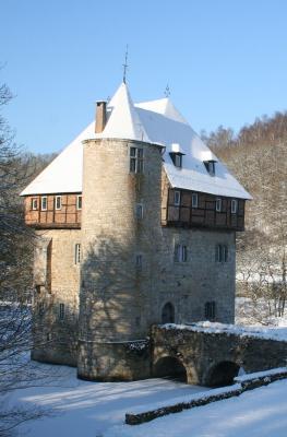 crupet - plus beaux villages de Wallonie - neige - hiver