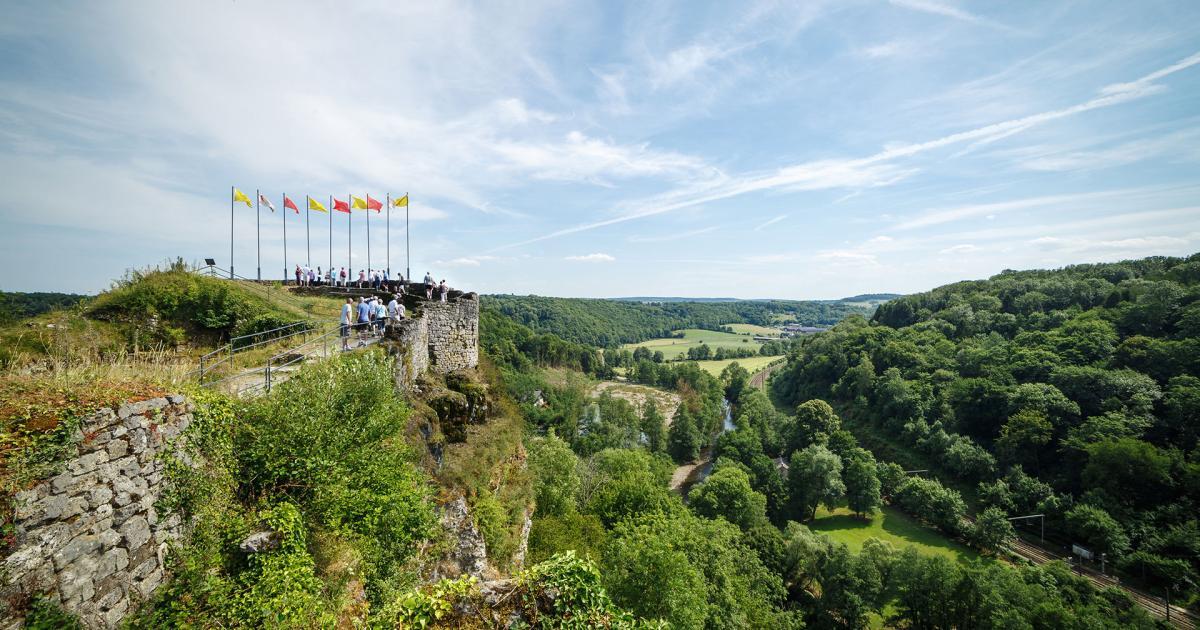 Château fort de Logne | Une visite 100 % médiévale à Vieuxville