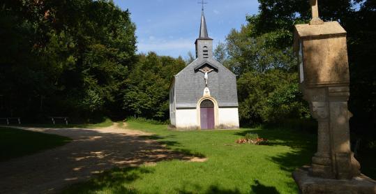 Ancien ermitage - Wachet - chemin de croix - Wallonie insolite