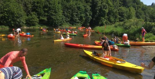 Semois Kayaks - monoplace - biplace - canoë - familial - Bouillon - Poupehan-sur-Semois
