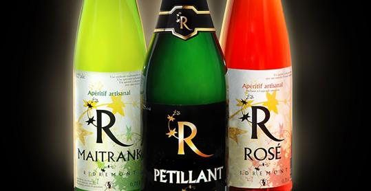 Arel Maitrank - Arlon - blanc - rose - petillant - collerette