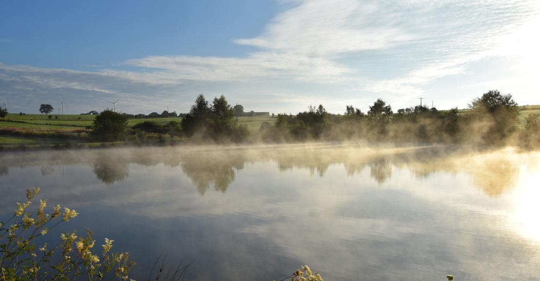 Lac de cherapont - Wallonie Terre d'Eau