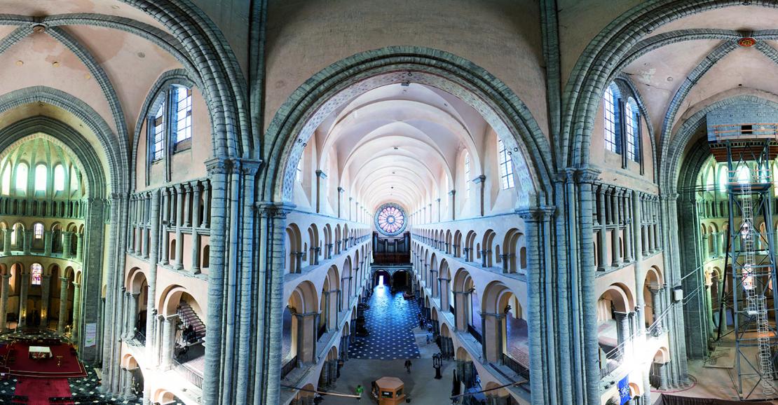 Intérieur de la cathédrale de Tournai