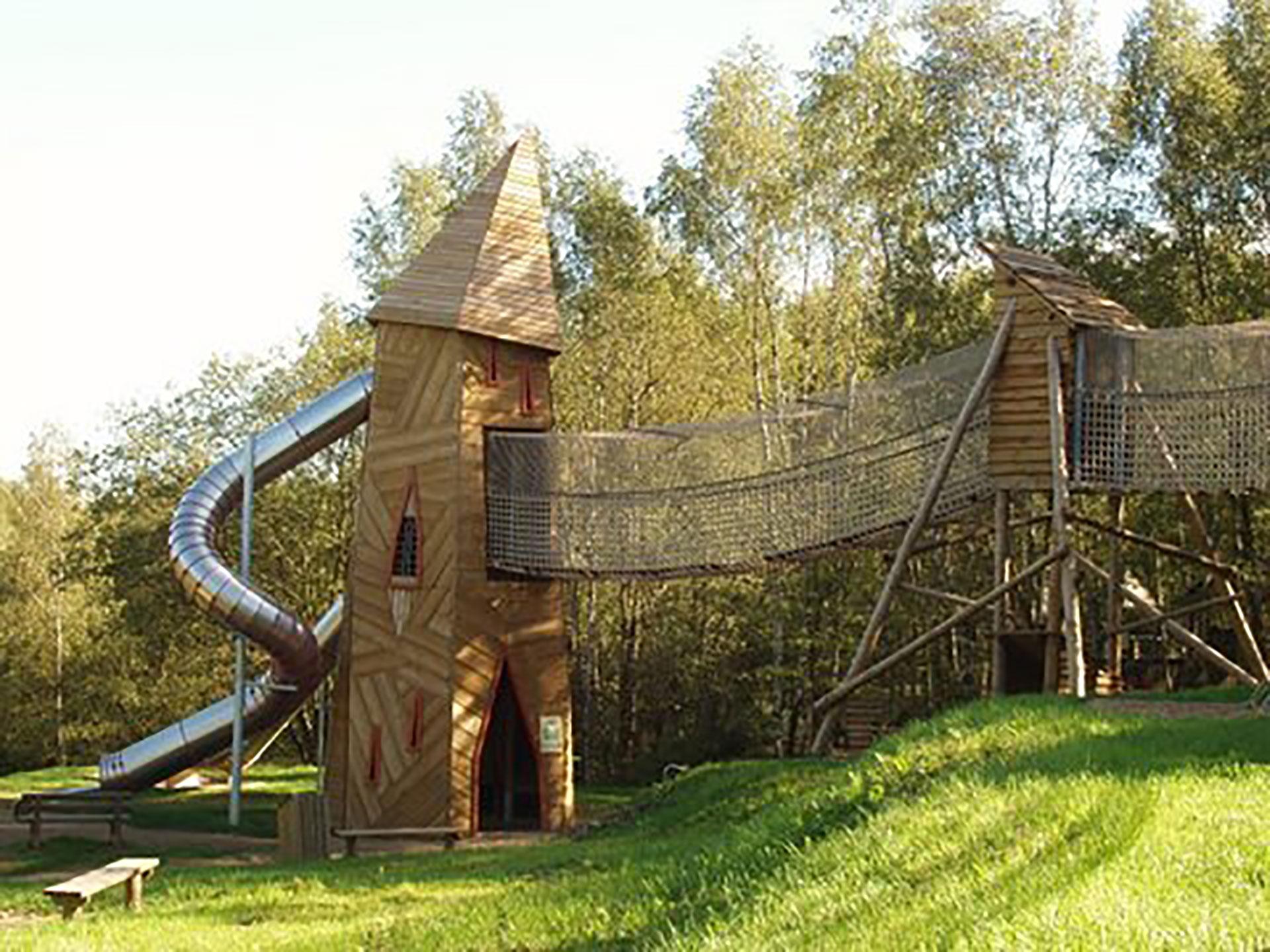 Parc Chlorophylle - Tour - parcours - cordage