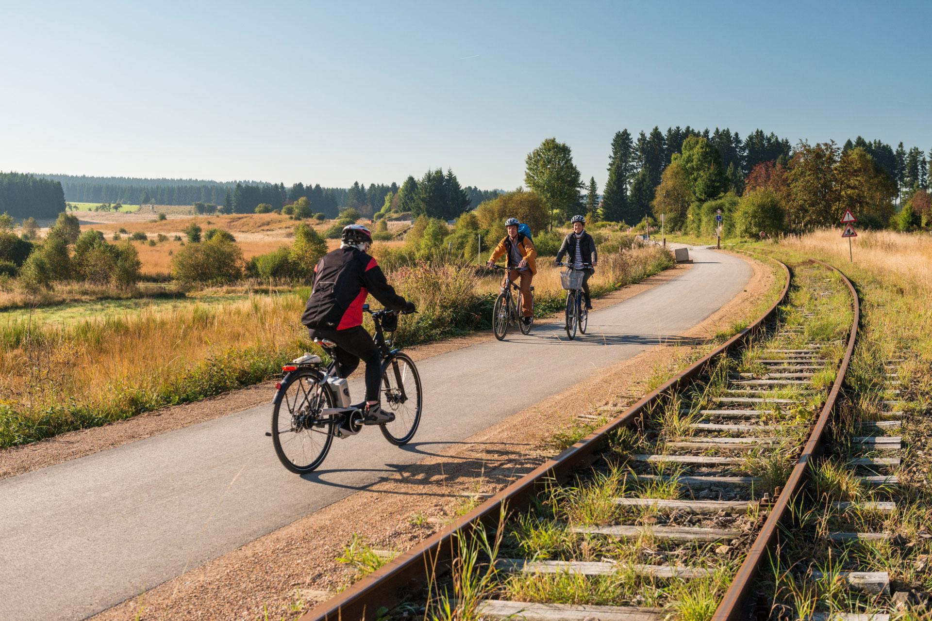 La Vennbahn - route cyclable - 3 Pays - Aix-la-Chapelle - Allemagne - Cantons de l'Est - Belgique - Troisvierges - Grand-Duché de Luxembourg